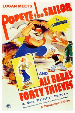 Logan Popeye Poster