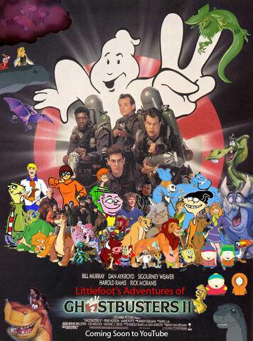 File:Littlefoot's Adventures of Ghostbusters II Poster.jpg