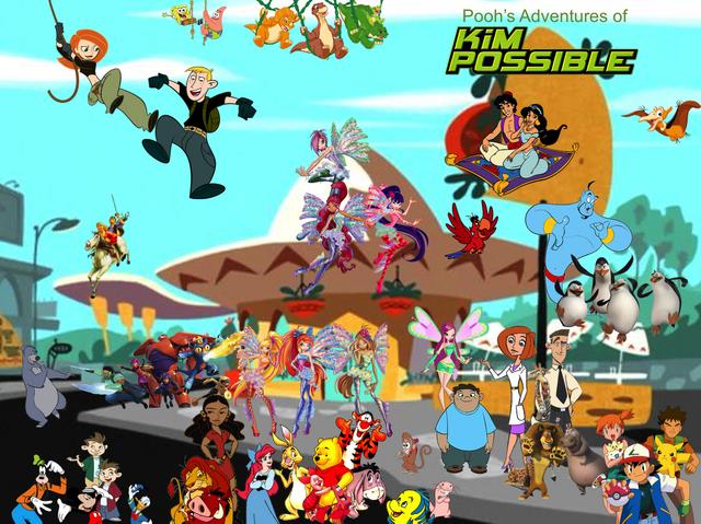 File:Pooh's Adventures of Kim Possible Season 2 Poster (Sirenix).png