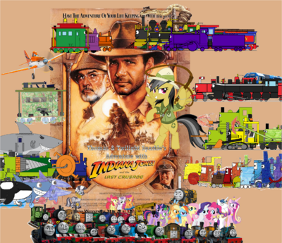 Thomas and Twilight's Adventure with Indiana Jones and the Last Crusade 2