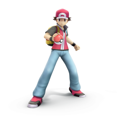 Pokemon trainer smash bros trophy render by nibroc rock-d9u0xrd