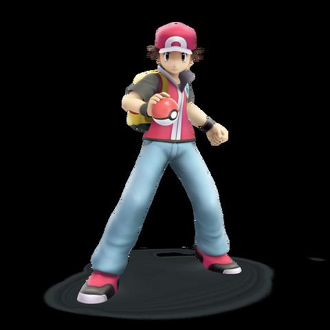File:Pokemon trainer smash bros trophy render by nibroc rock-d9u0xrd.png