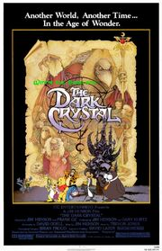 Winnie the Pooh and The Dark Crystal Poster