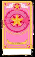 Star Book Sakura Book Unsealed (Back)