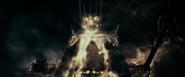 Sauron's destruction in battle by Isildur
