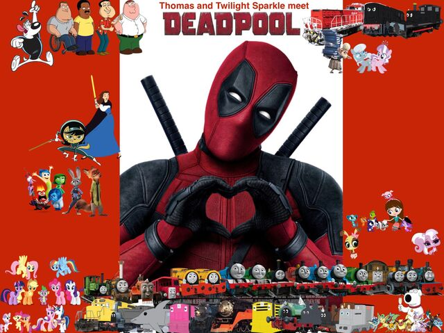 File:Thomas and Twilight Sparkle meet Deadpool poster.jpg