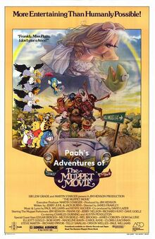 Pooh's Adventures of The Muppet Movie poster (Version 2)