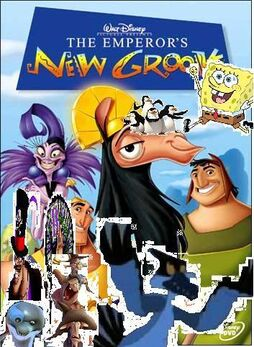 Spongebob and friends and the emperor's new groove 2
