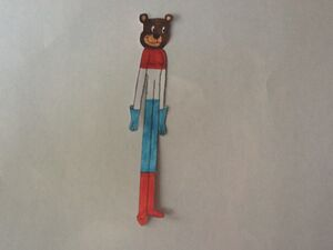 Dorothy the luxembourgish bear by carltonheroes-d9c9omo