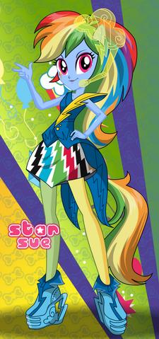File:Rainbow Dash Rainbooms Style.png