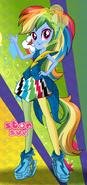 Rainbow Dash Rainbooms Style
