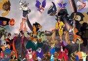 Simba, Timon, and Pumbaa's Adventures Chronicles Villains poster