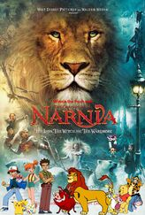 Winnie the Pooh and The Chronicles of Narnia - The Lion, the Witch and the Wardrobe Poster