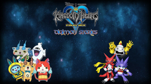 File:Kingdom Hearts (Digimon Stories) Poster Remake.jpg