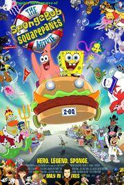 Pooh's Adventures of The SpongeBob SquarePants Movie Poster