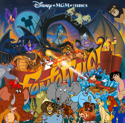 File:Simba, Timon, and Pumbaa's Adventures of Fantasmic (Walt Disney World version) poster(1).jpg