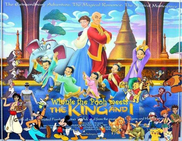File:Winnie the Pooh meets The King and I Poster.jpg