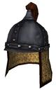 Lamellar helmet a