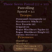 Three Seers Patrol