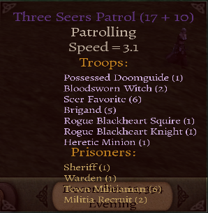 Three Seers Patrol