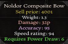 Noldor Composite Bow 2
