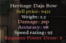Heritage Daja Bow