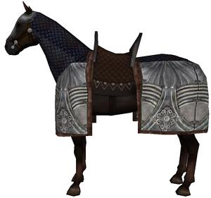 War horse blue