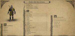 Pendor Mtd. Man-at-Arms