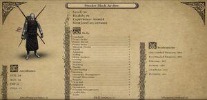 Pendor Black Archer