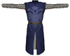 Knight Surcoat Blue on Blue