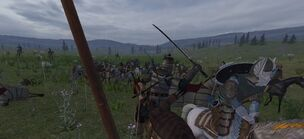 Kjuda fighting noldor