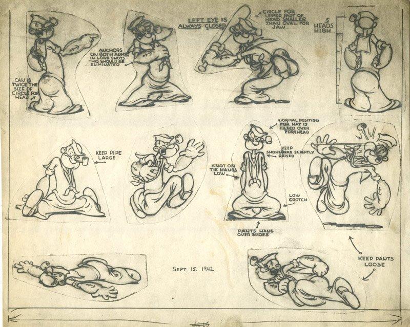 Popeye Popeye The Sailorpedia Fandom Powered By Wikia