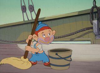 Popeye and pirates