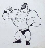 Bluto Quick on the Vigor Storyboard