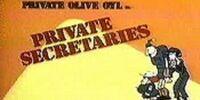 Private Secretaries