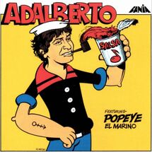 Adalberto Feat Popeye el marino