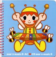 Pop'n music 8 AC - CS pop'n music 6