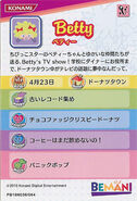 Betty Profile Card