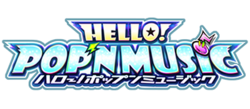 HELLO POP'N MUSIC logo