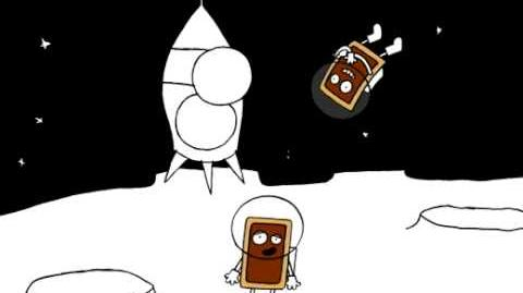 Pop-Tarts smores on mars
