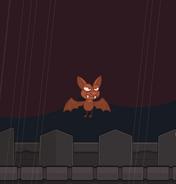 Count Bram as a Vampire Bat