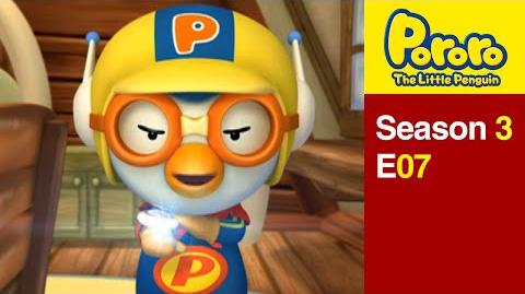 Pororo S3 07 I want to be a super hero