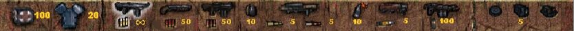 POSTAL 1 weapons
