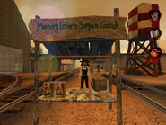 Woman selling items related to errands from Postal 2
