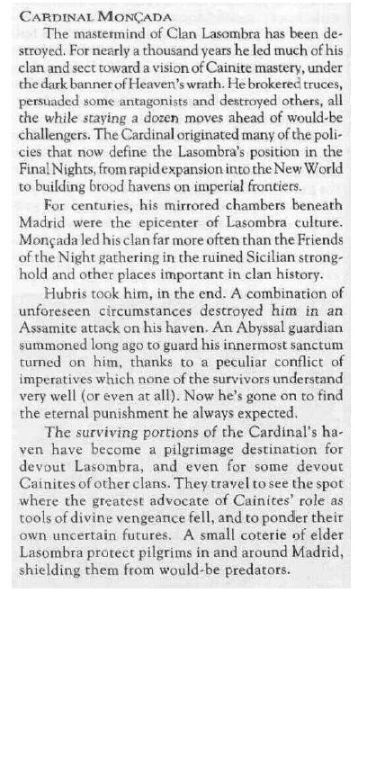 Cardinal Moncada