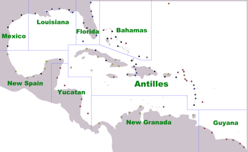 Caribbean Cities Regions