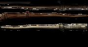 Three wands