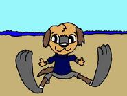 Beach time igor by poundpuppiesrock1991-d9ra42t