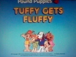 Title screen for Tuffy Gets Fluffy