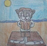 Ethan at the Beach